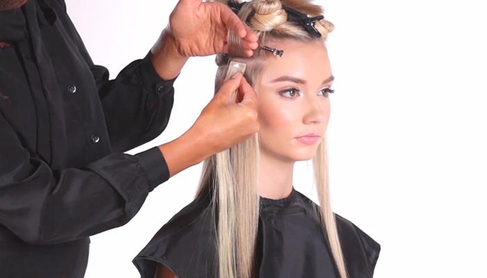 extensiones adhesivas pelo natural hairtalk