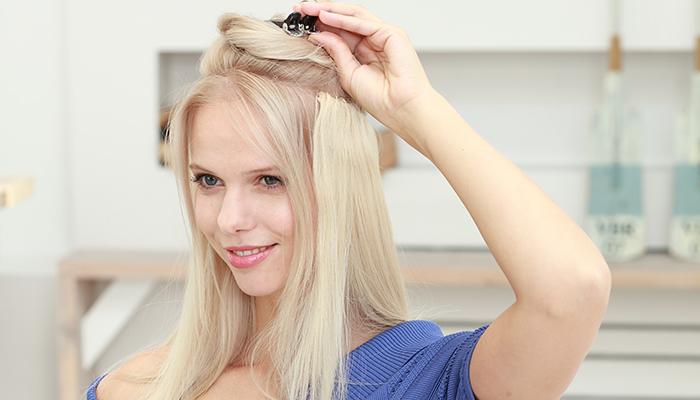 extensiones quita pon hairband