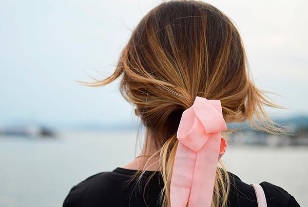 lazo para el pelo