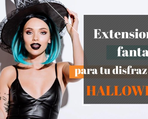 extensiones pelo para halloween