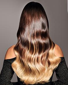 hairtalk ombre sombre rubio