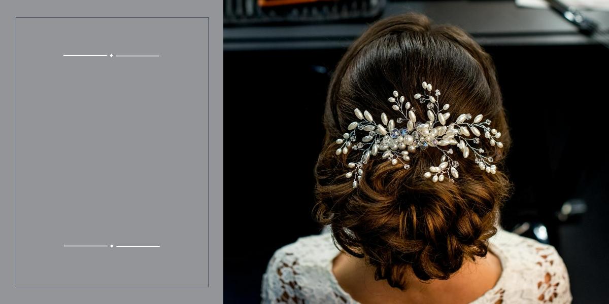 recogido bajo peinados novia invierno