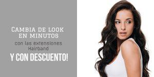 cambiar de look extensiones hairband
